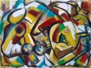 tableau personnages sam keusseyan de mar : comme une poésie