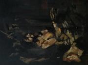 """tableau personnages 12e 56 keusseyan lilush : """" Le Caravage"""" étude.."""