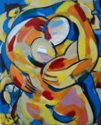 tableau personnages sam keusseyan de marseille : mon coeur adoré