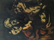 """tableau personnages 12e 56 lilush samvel : """" Le Caravage"""" étude.."""