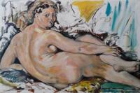"Jean Auguste Dominique Ingres "" La grande Odalisque """