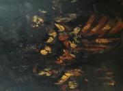 """tableau personnages 12e 2 lilush lilush : """" Le Caravage"""" étude.."""
