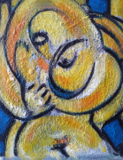 tableau personnages sam keusseyan de marseille : mon Amour