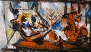 tableau personnages 12e 56 y 32 : étude d'après Picasso ..