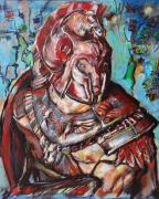 """tableau personnages gladiateur : """" Gladiateur moi même """""""