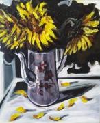 tableau fleurs sam sam keusseyan kuo : Tournesols