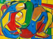 """tableau personnages sam keusseyan de marseille : """" mon Amour éternel.."""""""