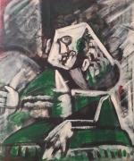 tableau personnages 12e 6 u 25 : étude d'après Picasso ..