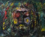 tableau personnages sam keusseyan de marseille : portrait pot