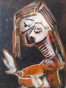 tableau personnages 12e sam lilush lilush : étude d'après Picasso ..