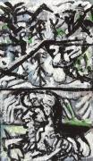 tableau personnages 12e sam de 32 : étude d'après Picasso ..