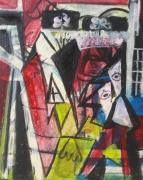 tableau personnages 12e sam v g : étude d'après Picasso ..