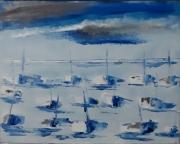 tableau marine barque bateaux horizon : 209 bateaux
