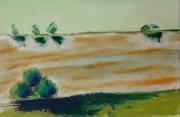 tableau paysages champs arbres horizon : 226 paysage