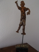 sculpture personnages jeux kohlanta vainqueur : Koh-Lanta