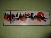 tableau abstrait : urbanisme