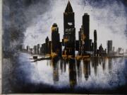tableau villes cite ville moderne amerique : urbanisme