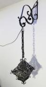 deco design abstrait lanterne lampe medieval eclairage : Lanterne médiévale / Forme flèche