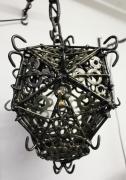deco design autres reverbere medieval lanterne fer : Réverbère médiéval