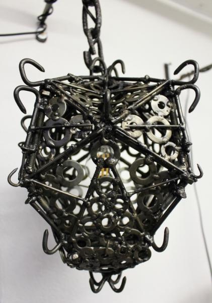DéCO, DESIGN réverbère médiéval lanterne fer  - Réverbère médiéval