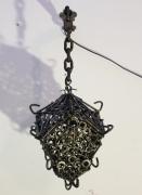 deco design autres reverbere fer lanterne medievale : Réverbère de fer