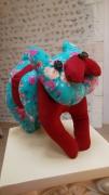 deco design animaux chien de decoration bouledogue de decora animaux de decoratio decoration tissu : Chien de décoration en tissu Bohème
