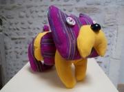 deco design animaux chien de decoration bouledogue de decora animaux de decoratio decoration tissu : Chien de décoration en tissu Méxicain