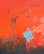 tableau abstrait abstrait marine bateau matiere : Désiquilibre