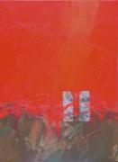 tableau abstrait abstrait marine bateau matiere : Pause