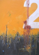 tableau abstrait abstrait marine bateau matiere : N°2