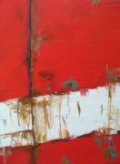 tableau abstrait abstrait marine bateau matiere : L'hermine