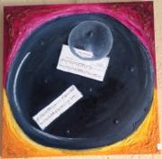 tableau autres janice b tableau spatial : Trou noir