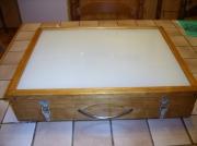 bois marqueterie autres table lumineuse decalquer dessin : TABLE LUMINEUSE POUR FEUILLES A3