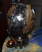 artisanat dart autres lampe metal baroque fait main : Lumi2