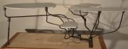 artisanat dart autres presentoir fer forge marbre sculptures : Pres
