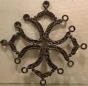 artisanat dart autres acier croix occitane ferronnerie fer ,a cheval : Kroi2