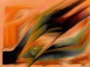 tableau abstrait jjdn peinture abstrait lines : Lines