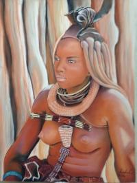 Namibie, Femme Himba