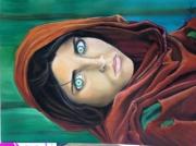 dessin femme du monde : Femme Afghane en résistance