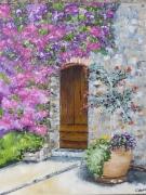 tableau architecture fleurs mas pierre poterie : INVITATION FLEURIE