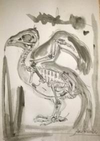 Skeleton Bird II