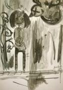 dessin personnages aquarelle jeunesse encre enfant : Dark
