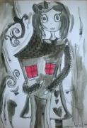 dessin personnages aquarelle personnage jeunesse illustration : My Alice