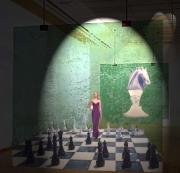 art numerique scene de genre echec superposition projecteur melange : MELANGE DES GENRES
