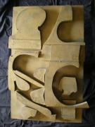 sculpture abstrait : COUPLE