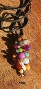 bijoux autres grappe bronze multi pierres : Grappe,perles Pierres semi précieuses