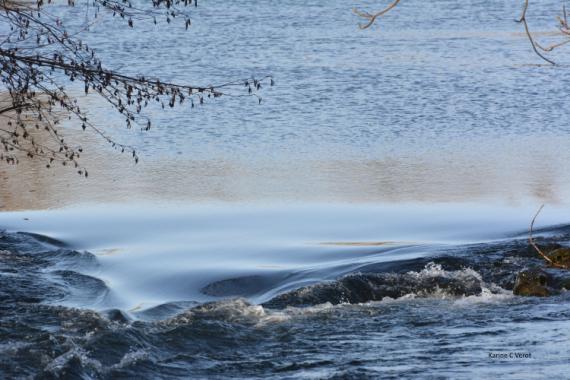 PHOTO Le Rioudard Ardèche Paysages  - Au fil de l'onde