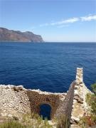 photo marine bouches du rhone cassis : Pointe de la Cacau : déversoirs à pierres (2)