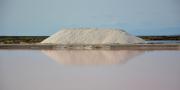 photo marine salins de gruissan aude : Récolte de sel