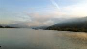 photo rhone fleuve drome ardeche : Péniche sur le Rhone